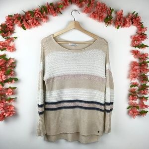 American Eagle Outfitters Knit Cozy Crew Sweater S